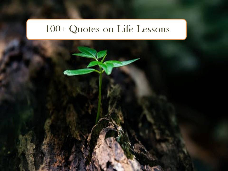 100 Short Quotes About Life Lessons