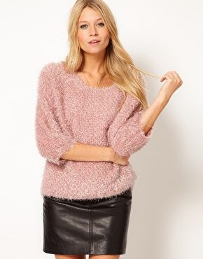 ASOS Fluffy Oversized Sweater