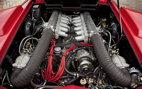 1988 Lamborghini Countach 5000Qv Engine Photo 8