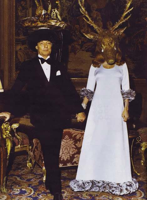 1972 Surrealiste Ball invite Château de Ferrières Le Baron et la Baronne Guy de Rothschild