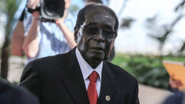 92 yaşındaki Zimbabve Devlet Başkanı Robert Mugabe