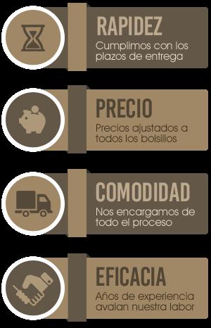 Servicios profesionales especializados en la fabricación y rstauración de muebles de madera