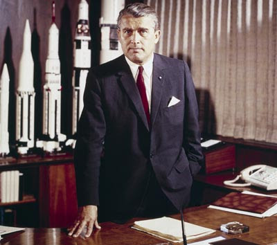 von Braun in office