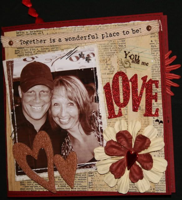 Valentine's kortet til Henning