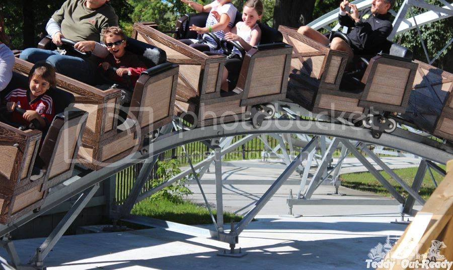 New Ride Toronto Island Monster Coaster