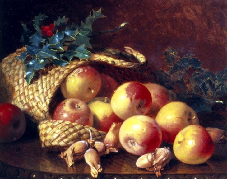 Χριστουγεννιάτικα φρούτα και ξηροί καρποί Eloise Harriet Stannard