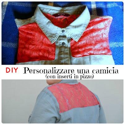DIY: personalizzare una camicia con applicazioni in piazzo