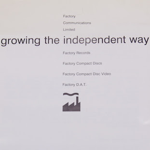 Growing the independent way - Factory Records stationery