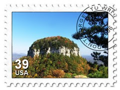Pilot Mountain Stamp