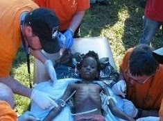 A 6-year-old Haitian girl was pulled from the rubble and treated by the IsraAID team in Port-au-Prince, Haiti