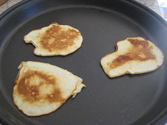 tanned pancakes