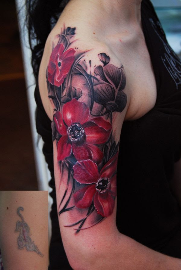Cute Simple Floral Tattoo Tattoomagz