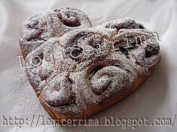 [ Torta di Rose con Pasta Madre ]