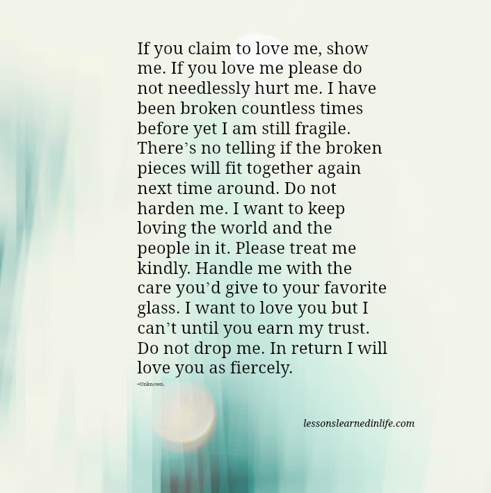 If You Loved Me Quotes If You Love Me Let Me Know Picture Quotes