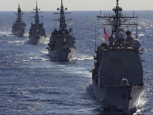 China US Security Showdown