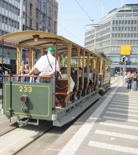 Helsinki tram by Anna Amnell