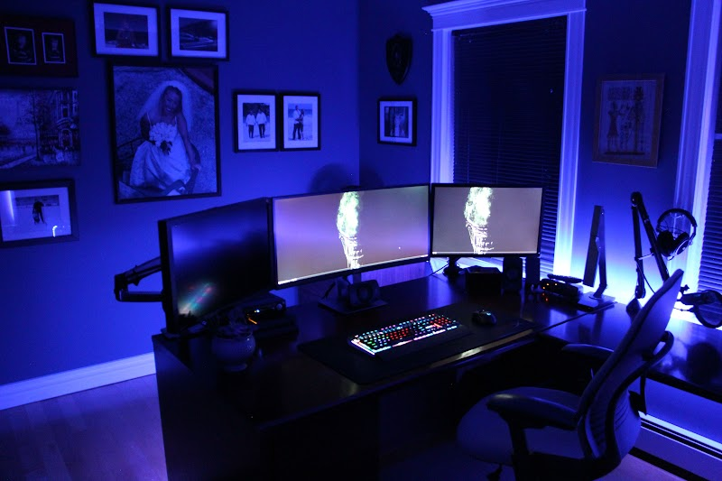 Get Inspired For Bedroom Gaming Pc Setup pictures