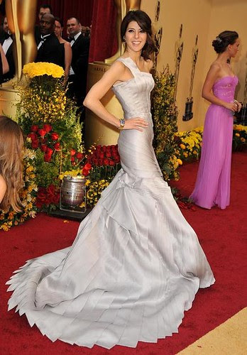 Actress Marisa Tomei arrives at the 81st Annual Academy Awards h