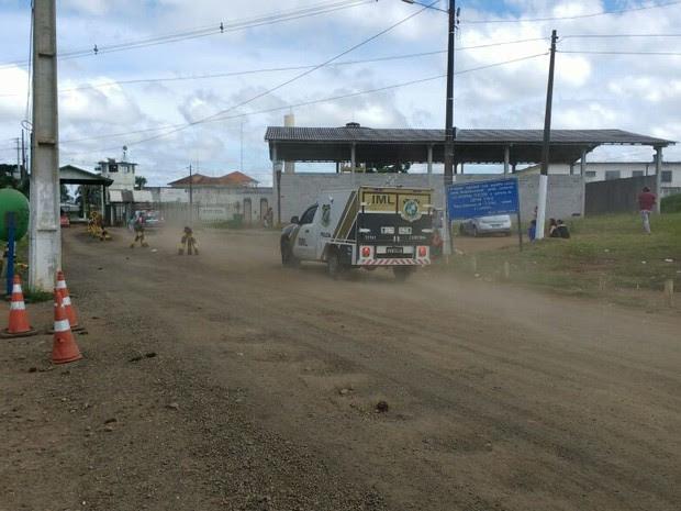 Dois presos morreram durante a fuga, de acordo com o Depen  (Foto: Roberto Cosme/ RPC Curitiba)