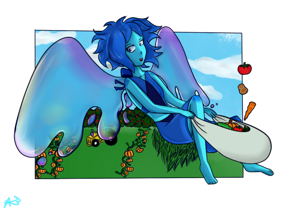 I need more of Gems' teamwork and I need more of her 0w0 Tablet broke and had to finish it with mouse ;;