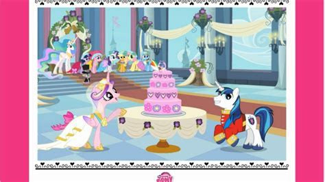 My Little Pony MLP Applejack's Wedding Cake Creator Game