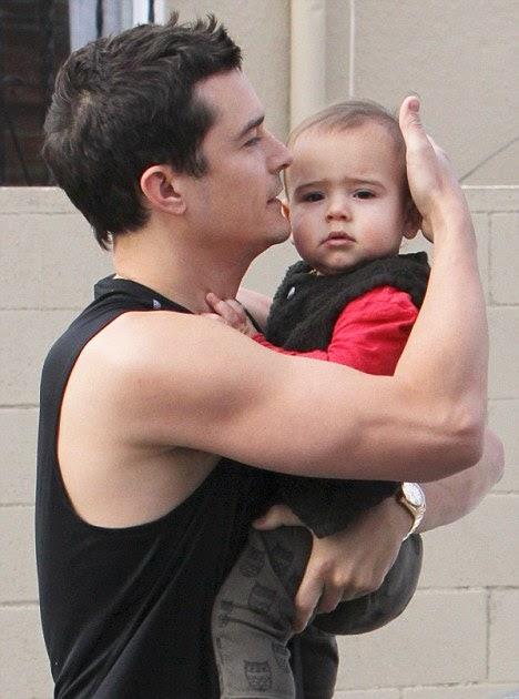 Stylebump Orlando Bloom Amp Baby Flynn