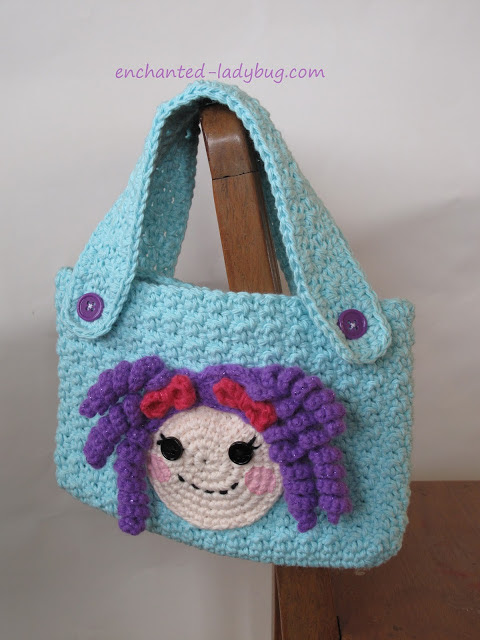 Free Crochet Lalaloopsy Purse Pattern