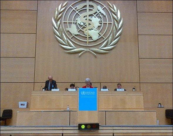 Secretary Sebelius speaks at the World Health Assembly