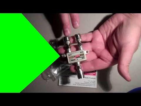 Radio Hobbyist: How to make a shortwave Antenna Splitter