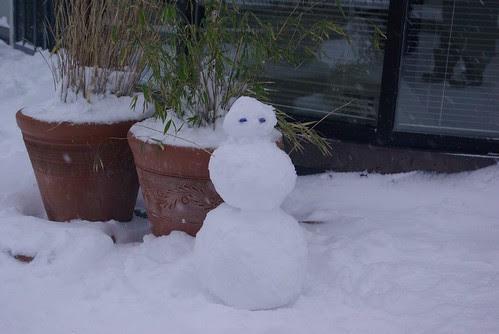 2008-12-18 Snopocalypse Seattle Snowman