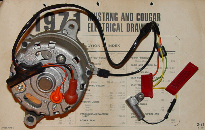 Ford Alternator Wiring Harnes