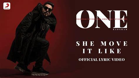 badshah  move    album lyrics video