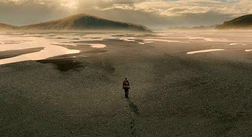 Ham deixando sua família representa Escolas de Mistérios sobreviventes das formas grande inundação e de despedida com a linhagem de Noah.