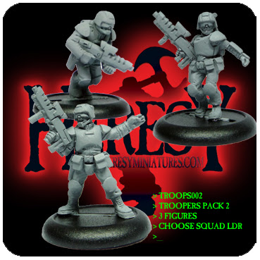 Troopers pack 2 (3 figures) - Click Image to Close
