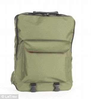 The Maxwell model retails for $485 and is available in three different backpack hues.