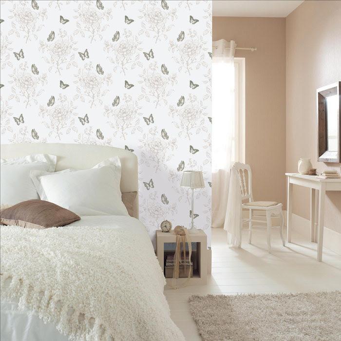 Dormitorio muebles modernos papel pintado en leroy merlin - Papel vinilico para cocinas leroy merlin ...