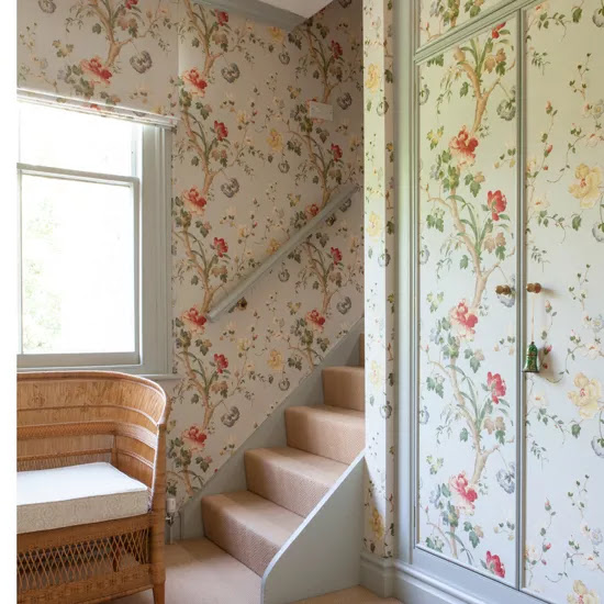 Wallpaper ideas for smaller rooms  Ideal Home