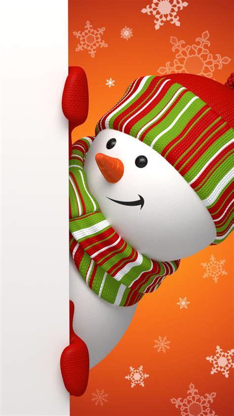 iphone wallpaper christmas tjn snowmen pinterest