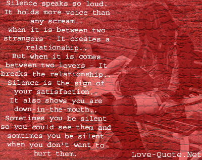 Quotes About Silent Emotions 55 Quotes