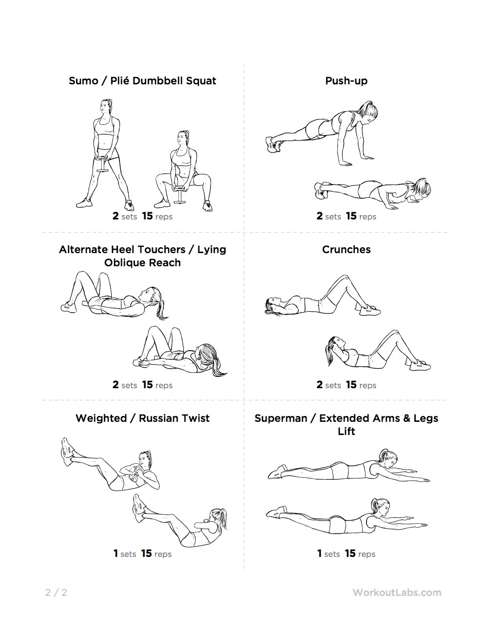 Luscious image regarding printable kettlebell workout
