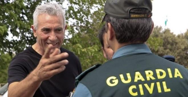 El dirigente del Sindicato Andaluz de Trabajadores, Diego Cañamero, en una fotografía de archivo.- EFE
