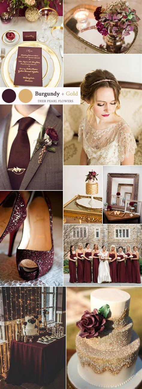 top  burgundy wedding color palettes youll love deer
