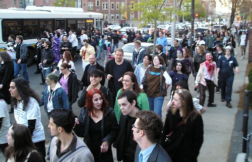 another zombie march, this weekend