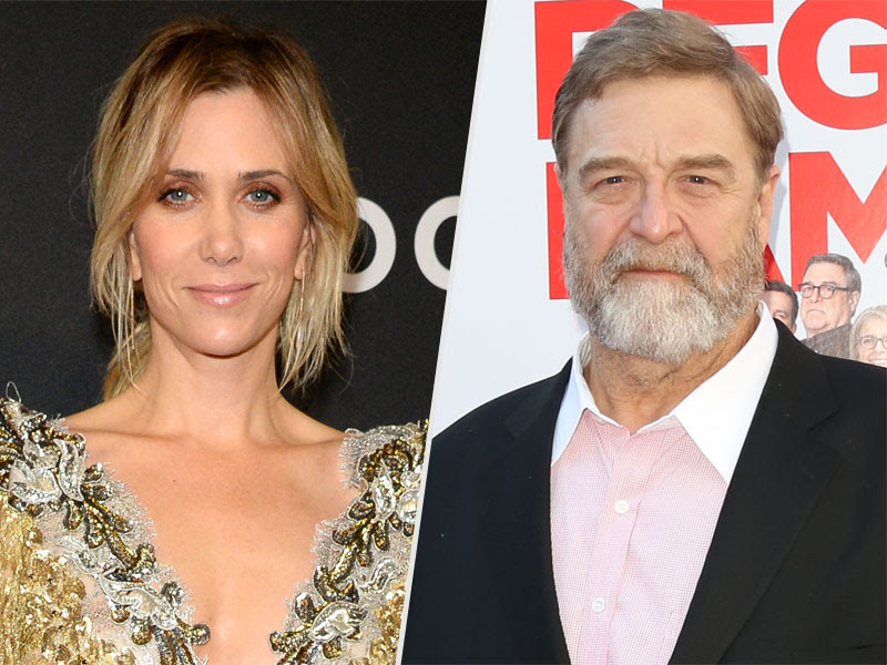 John Goodman and Kristen Wiig's Awkward Run-In