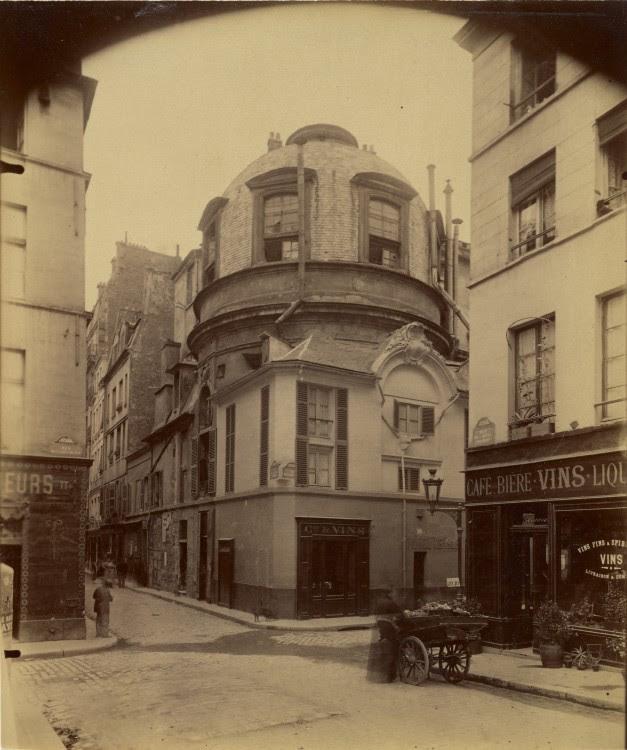 Atget Paris Ancienne ecole de Medecine 627x750 Le Paris de 1900 par Atget  photographie histoire art