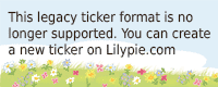 Lilypie 6th to 18th Ticker