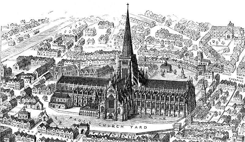 Christopher Wren | Catedral de San Pablo en Londres | Descripción + Fotos + Planos + Cúpula