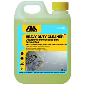 Fila PS67 is a water-based cleaner that can be used to pre-seal cement tile.