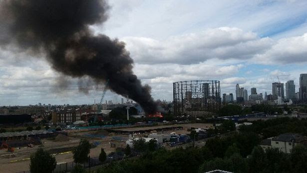 Fire at famous London club Studio 338 in Greenwich