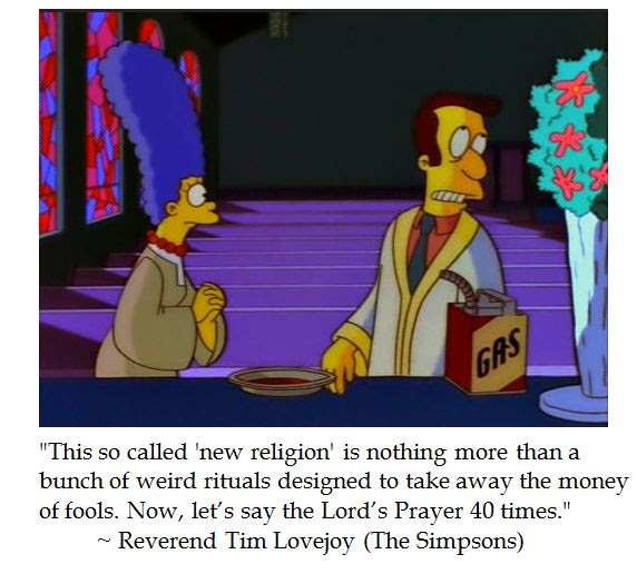 Simpsons Rev. Lovejoy